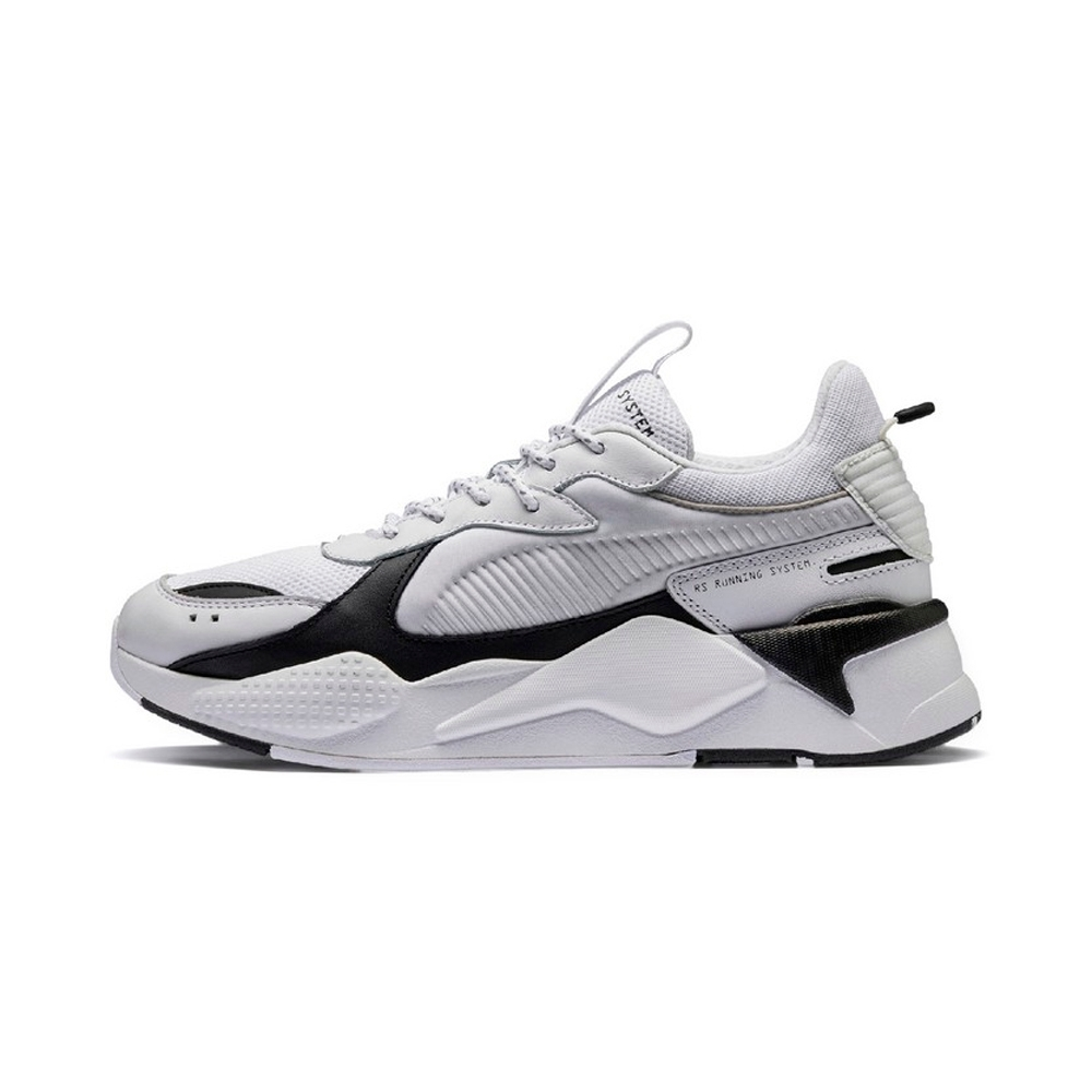 PUMA-RS-X CORE 男女復古慢跑運動鞋-白色
