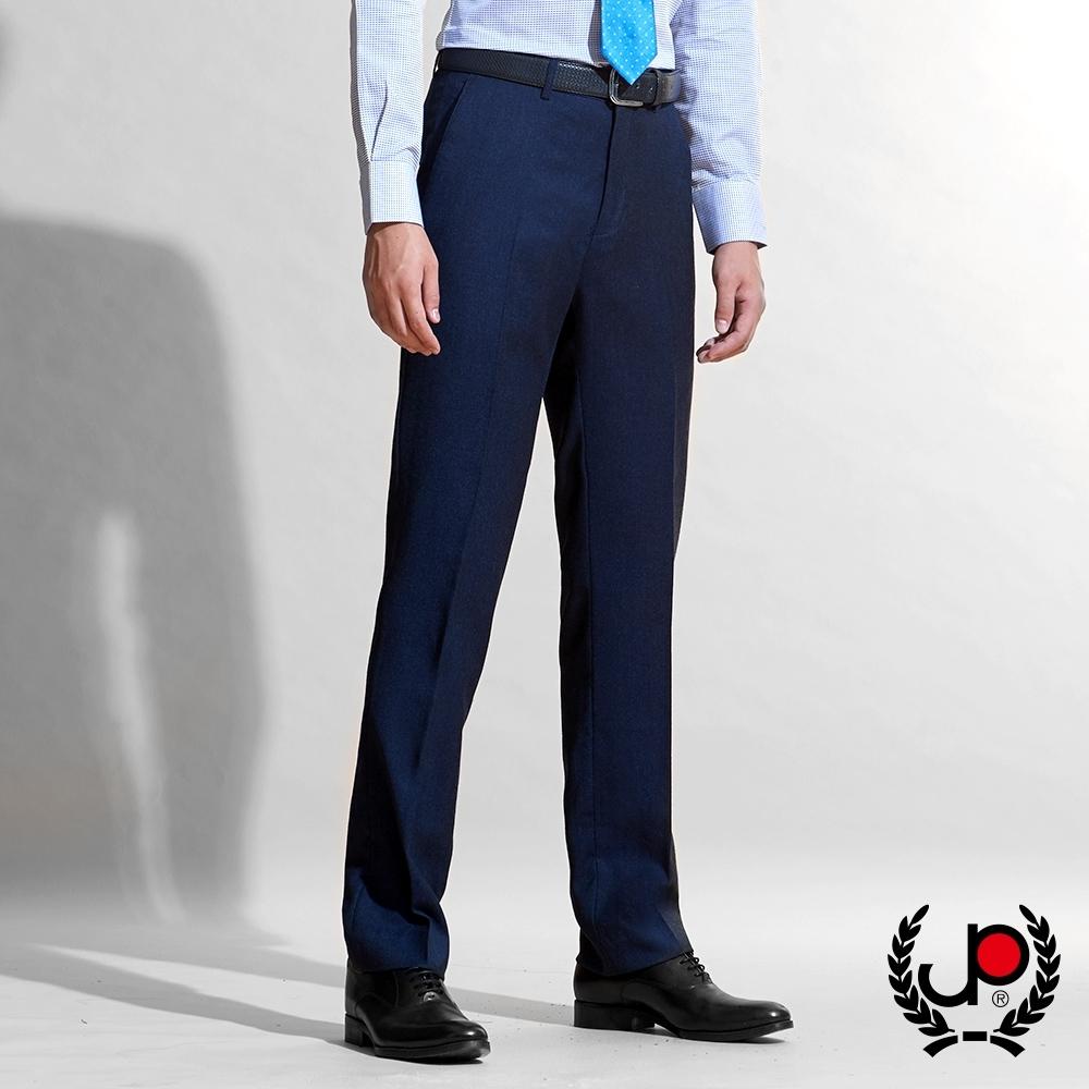 【極品西服】細緻100%純羊毛修身平面西褲_丈青(BW610-1)