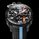 Bomberg 炸彈錶 Bolt-68 Racing 黑色XL復古賽車計時碼錶-45mm