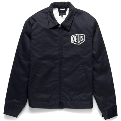 Deus Ex Machina  Workwear Jacket 外套-黑(男/女)