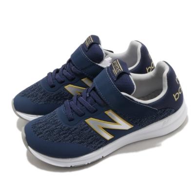 New Balance 慢跑鞋 Premus Version 寬楦 童鞋 紐巴倫 基本款 舒適 避震 運動 中童 藍 銀 YOPREMNYW