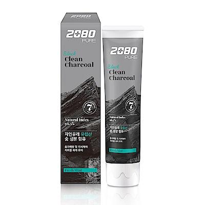 韓國2080 北歐純椰活性碳淨白牙膏120gX3入