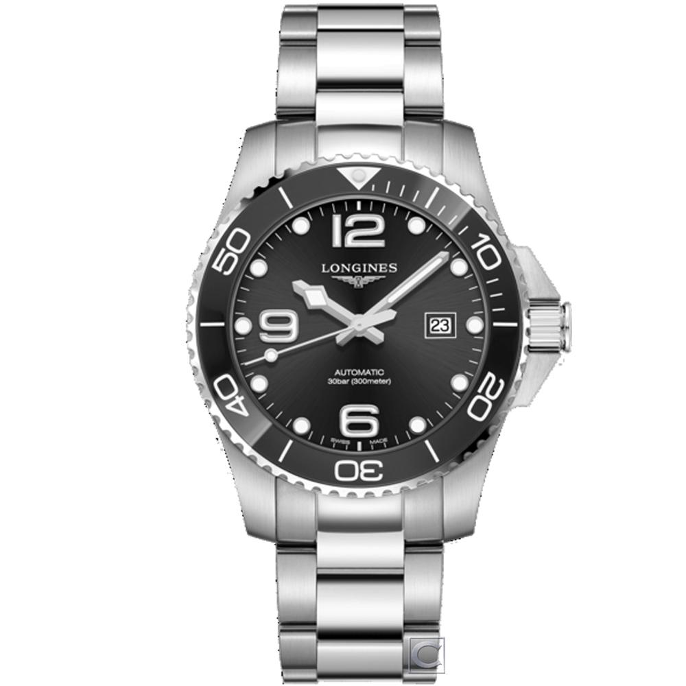 LONGINES浪琴康卡斯潛水運動機械錶(L37824566)-43mm