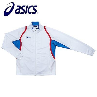 Asics 亞瑟士 男女針織外套 白藍 K11503-0143