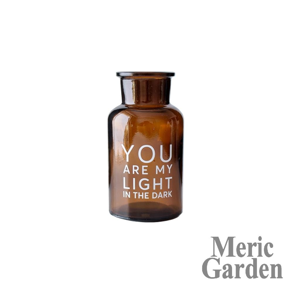 【Meric Garden】北歐ins風創意簡約裝飾玻璃花瓶/復古花瓶_S