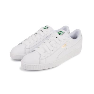 【PUMA】Basket Classic LFS 休閒鞋 皮革 經典款 情侶鞋 男/女-白(35436717)