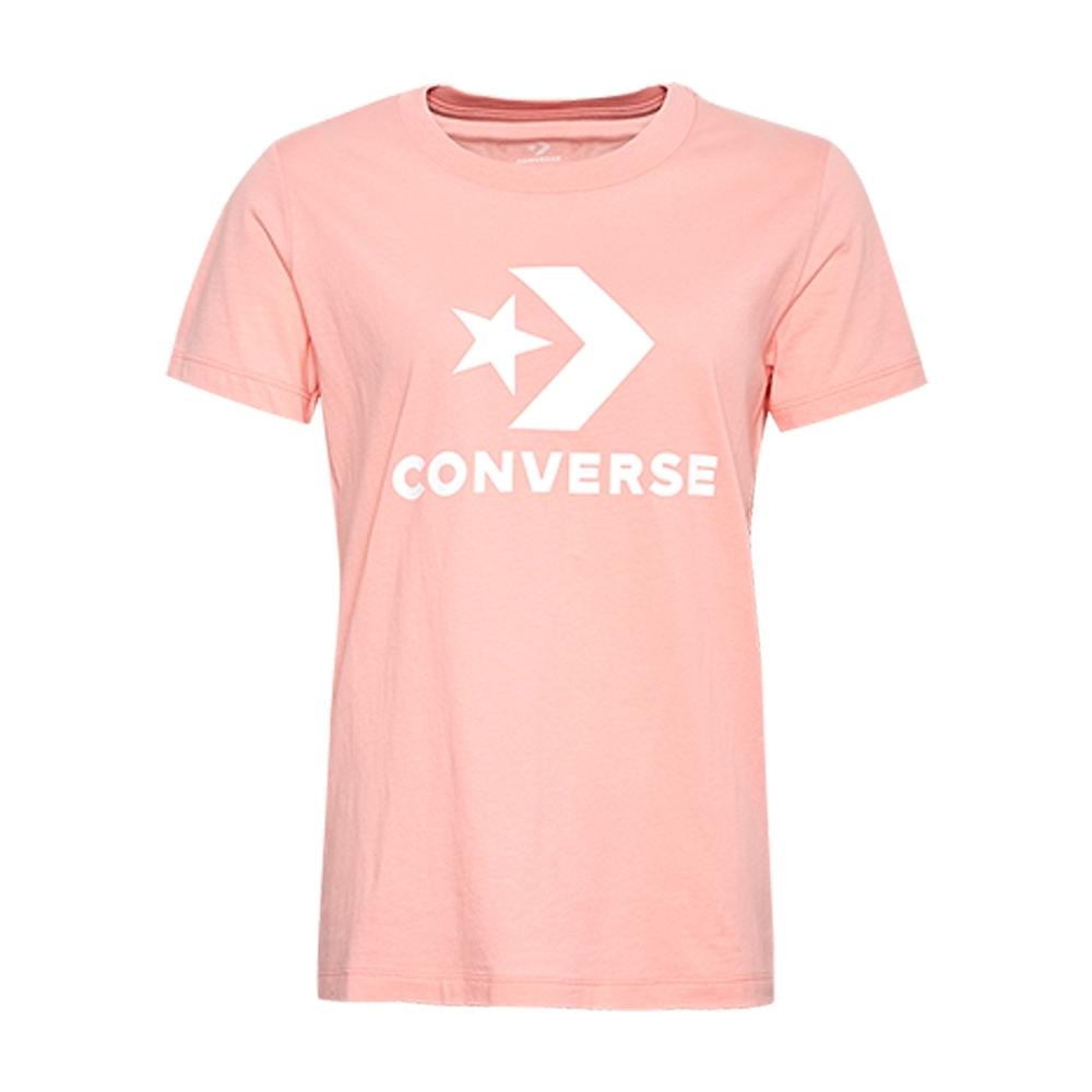 CONVERSE 女短袖上衣 粉 -10009152-A11