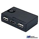 日本RATOC 2-Port HDMI USB電腦KVM切換器 (REX-230UH)