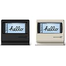 elago iPhone Plus M4 賈伯斯 Macintosh造型支架-限量紀念款