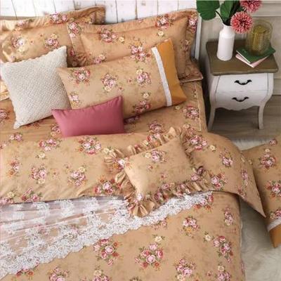 (限時下殺)Carolan 精梳純棉床包枕套組 單/雙/加/均一價 (多款任選)