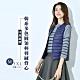 艾米蘭-韓版保暖90%輕羽絨圓領口袋背心-5色(M-3XL)A1 product thumbnail 1
