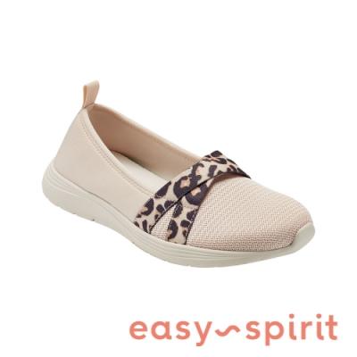 Easy Spirit-seLORIE2 拼接彈性布休閒鞋-米杏色