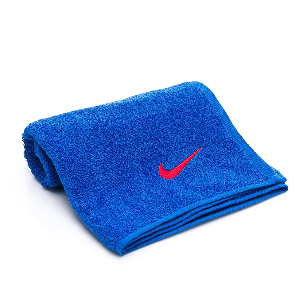 NIKE 日式盒裝毛巾 運動 健身 慢跑 80 x 35cm 藍 NTTC2453NS