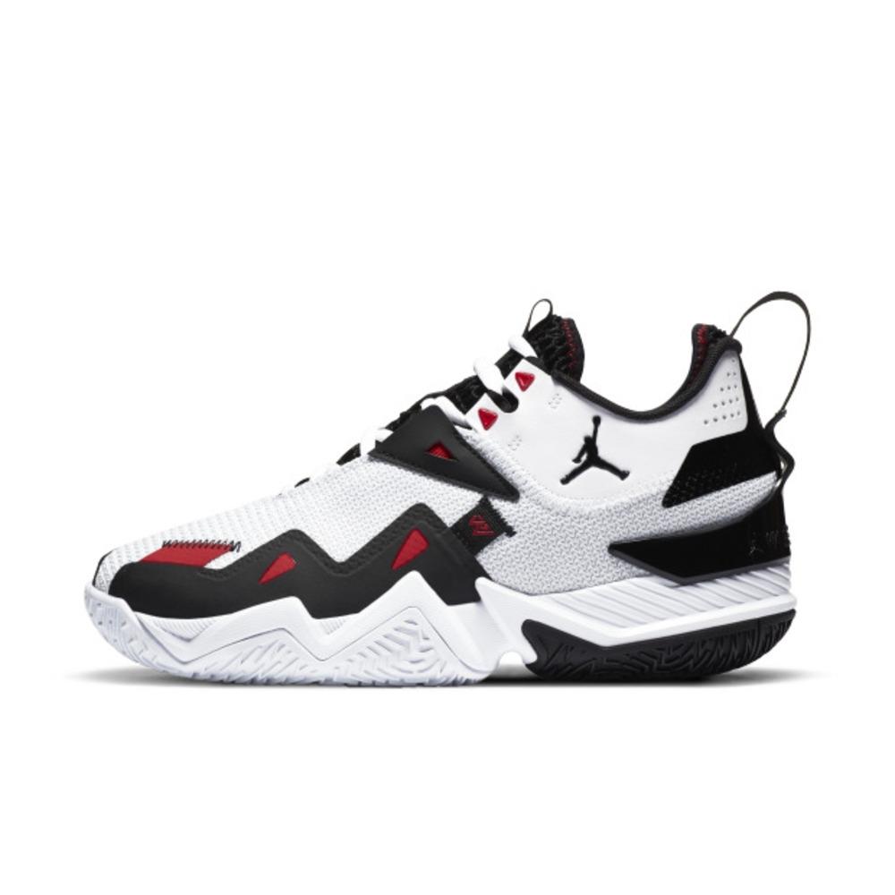 Nike JORDAN WESTBROOK ONE TAKE PF 男籃球鞋-白黑-CJ0781101