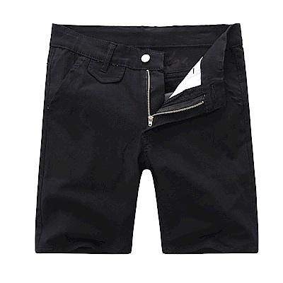 BuyGlasses 韓風素面薄款基本休閒短褲