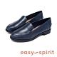 Easy Spirit seRACER 通勤推薦 素面百搭休閒樂福鞋 - 藍色 product thumbnail 1