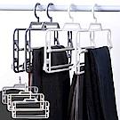 [Ezlife]3入組-活動式多層防滑魔術褲架
