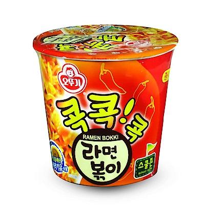 不倒翁 辣炒年糕風味乾拌杯麵(65g)