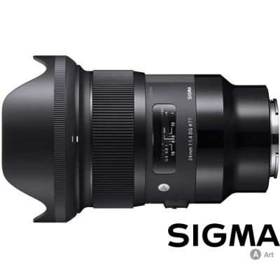 SIGMA 24mm F1.4 DG HSM Art for L-Mount / 接環 (公司貨)