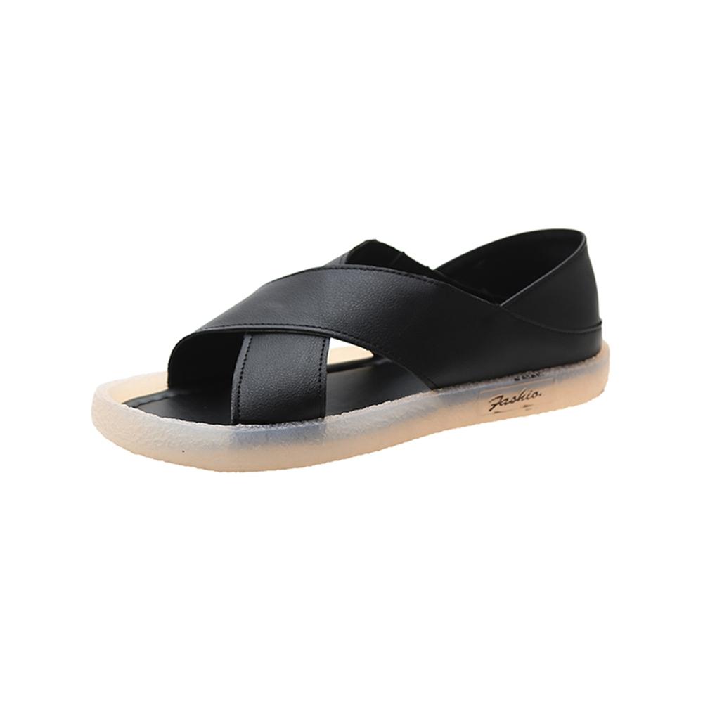 KEITH-WILL時尚鞋館-獨賣活力宣言涼鞋(涼鞋/涼跟鞋)(共3色) (黑色)