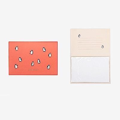 Dailylike動物樂園4x6相本萬用卡-06企鵝