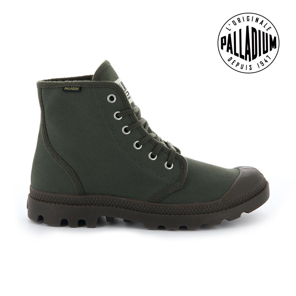 Palladium Pampa Hi ORIGINALE女鞋-墨綠