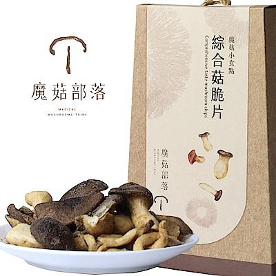 魔菇部落 魔菇小食點-綜合菇脆片(75g)