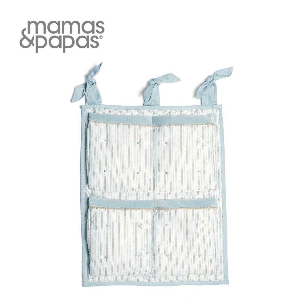 Mamas&Papas 收納袋 波里斯熊先生-藍