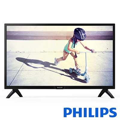 PHILIPS飛利浦 43吋 FHD液晶顯示器+視訊盒 43PFH4052【3入組】
