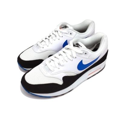 NIKE  AIR MAX 1 男 休閒鞋 黑白藍