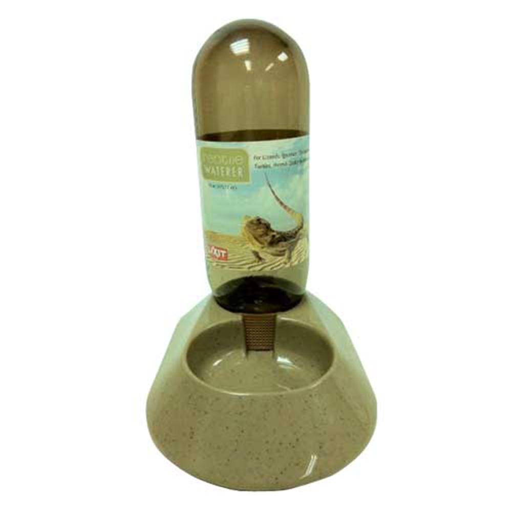 金德恩 美國製造 LIXIT 自動調節飲水量兩棲動物爬蟲類寵物喝水盤 480cc