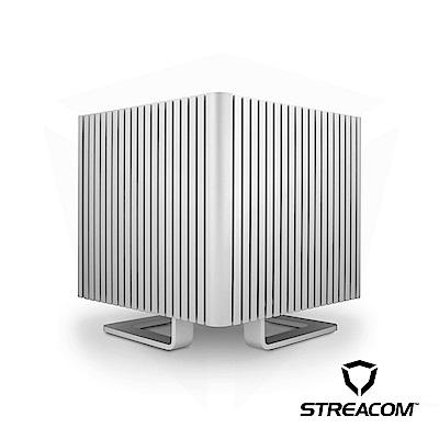 【STREACOM】DB4 無風扇靜音機殼 銀色 (套裝組合)