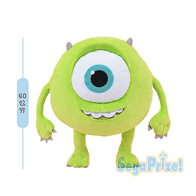 【SEGA】日版 景品 怪獸電力公司 大眼仔 麥克・華斯基 絨毛娃娃  40CM