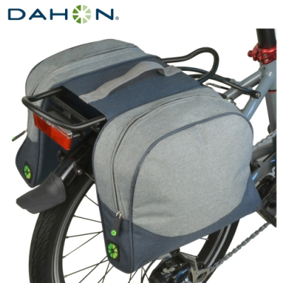 DAHON大行 Rear Carrier Bag單車用600D加厚後貨架馬鞍袋-灰
