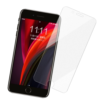 iPhone SE 2020 SE2 非滿版 半屏霧面 9H鋼化玻璃膜 手機 保護貼 (iPhoneSE2020保護貼 iPhoneSE2020鋼化膜 )