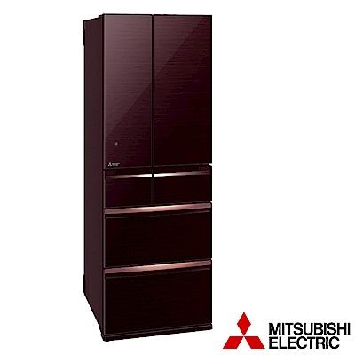 (贈好禮) MITSUBISHI三菱 525L 1級變頻6門電冰箱 MR-WX53C 日本原裝