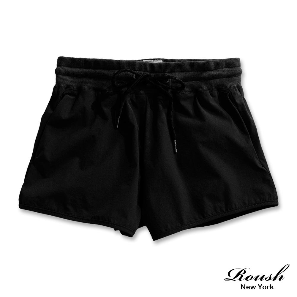 Roush 女生抽繩設計運動風褲(2色)