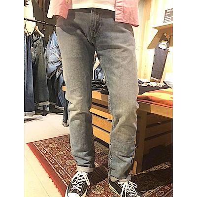 牛仔褲 男款 511 低腰窄管 彈性布料 刷白 - Levis