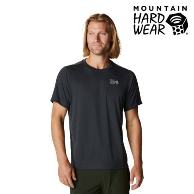 【美國 Mountain Hardwear】Wicked Tech Short Sleeve T 防曬快乾短袖排汗衣 男款 深風暴灰  #1934291