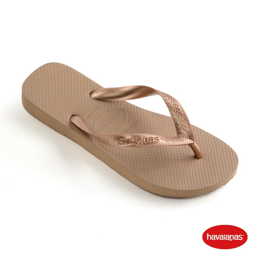 Havaianas哈瓦仕 拖鞋 夾腳拖 人字拖 巴西 男鞋 女鞋 玫瑰金 4000029-3581U Top