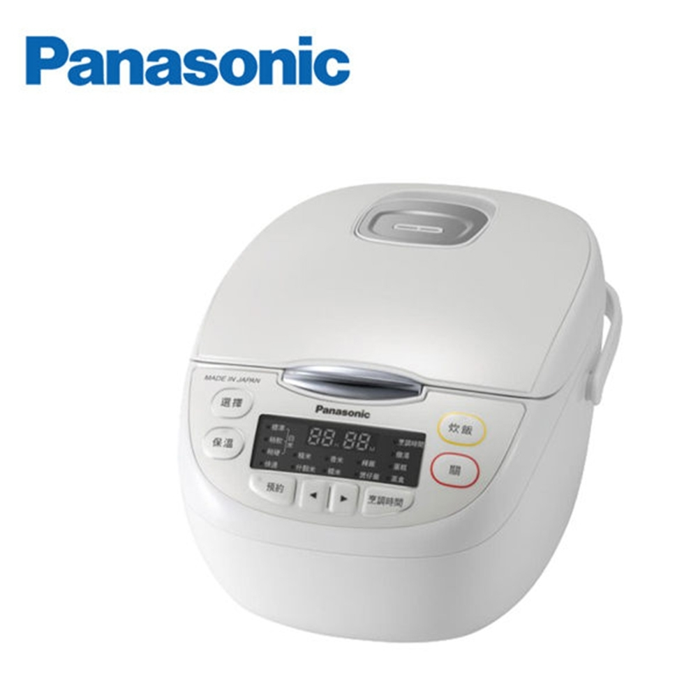 Panasonic 國際牌 日本製6人份微電腦電子鍋 SR-JMN108-