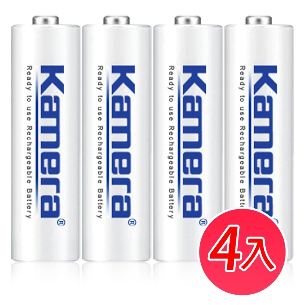 Kamera 3號 AA 鎳氫 低自放充電電池 鎳氫 (4入)