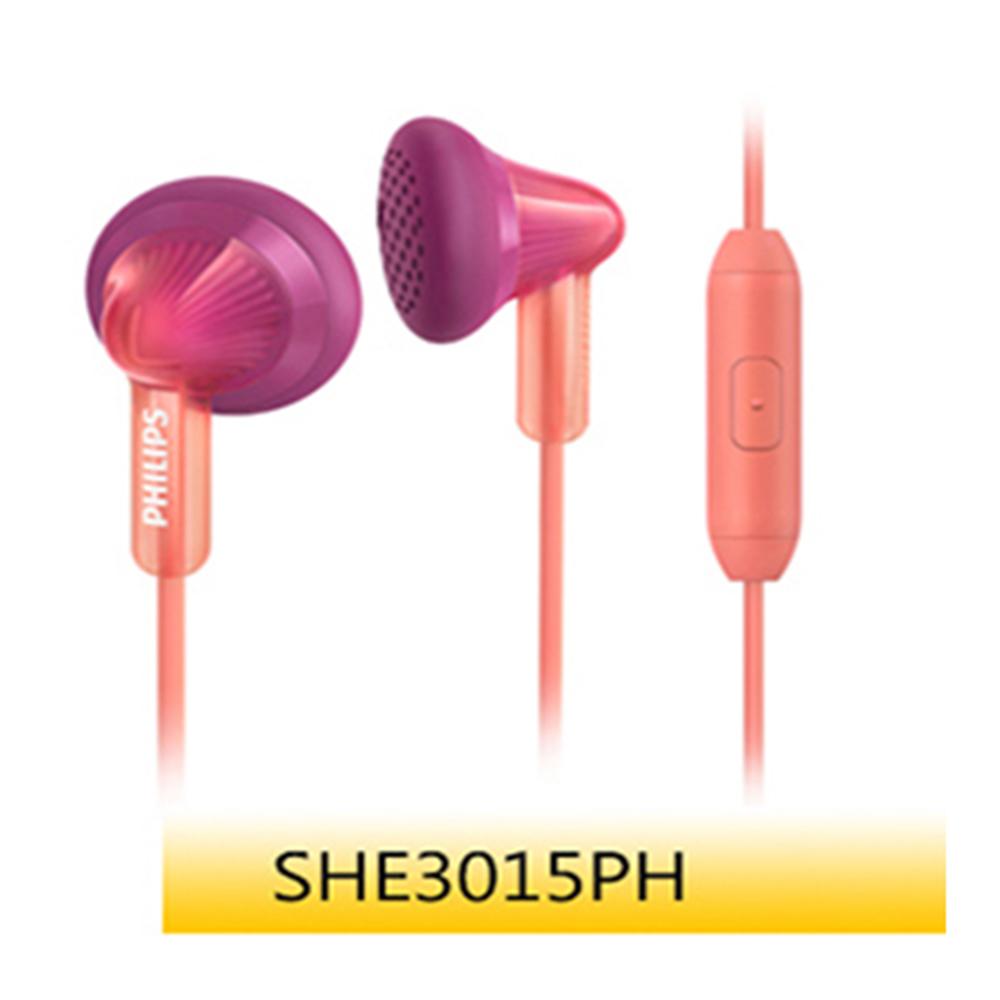 【福利品】PHILIPS 耳塞式耳麥SHE3015 蜜桃粉 @ Y!購物