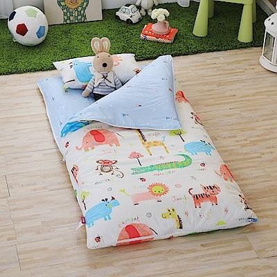 IN HOUSE-Zoo-keeper-200織紗精梳棉-兒童睡袋