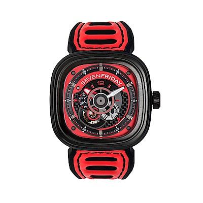 SEVENFRIDAY P3B-06 潮流新興瑞士機械腕錶