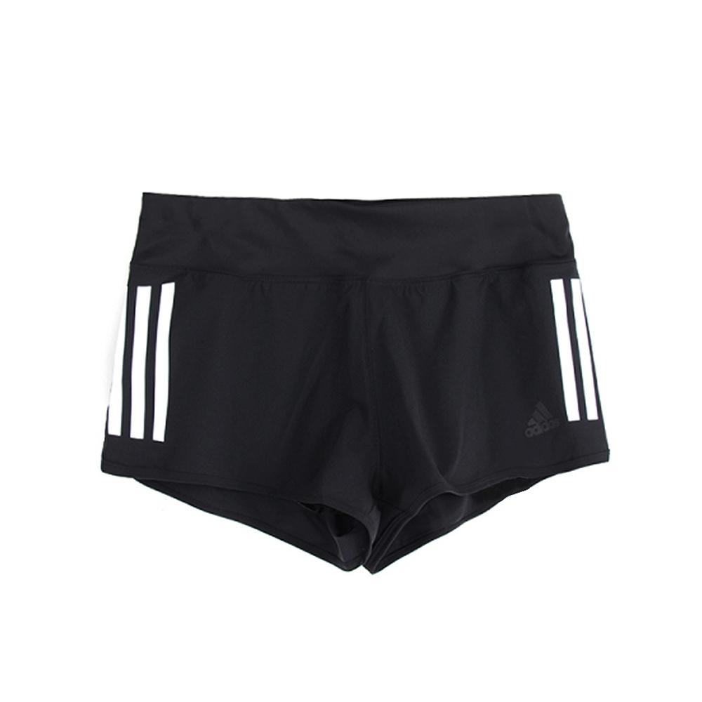 ADIDAS GYM SHORT 3S女短褲-AJ4851 黑