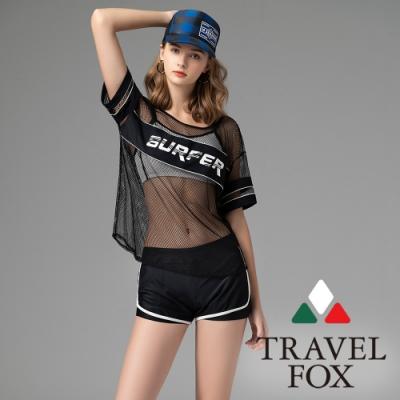 TRAVEL FOX夏之戀大女三件式泳衣