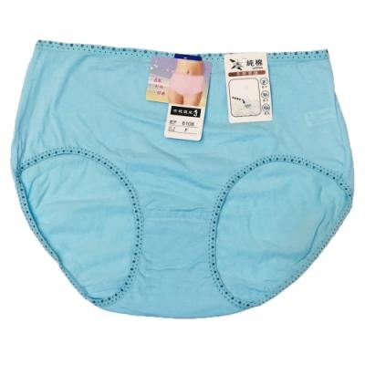 吉妮儂來 6件組舒適素面小花棉感平口褲(尺寸FREE/隨機取色)