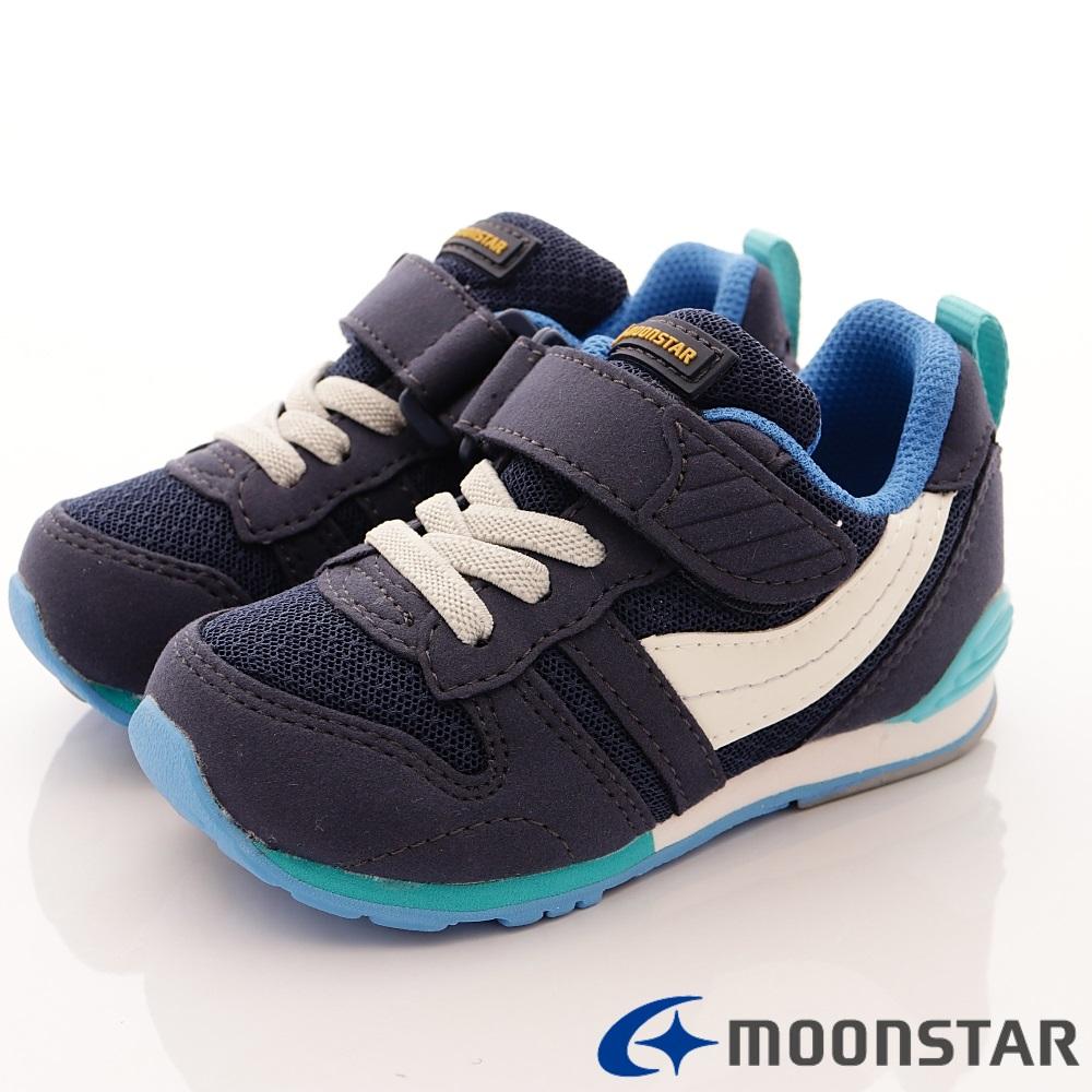 日本月星頂級童鞋 HI系列2E機能款 TW121S3藍(中小童段)