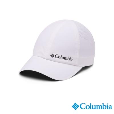 Columbia 哥倫比亞 中性 - UPF50 防潑快排 棒球帽-白色 UCU01290WT
